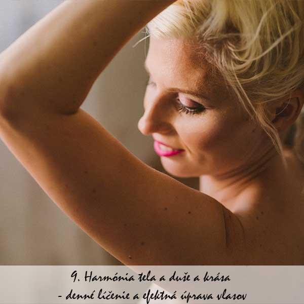 9. Harmónia tela a duše a krása - denné líčenie a efektná úprava vlasov